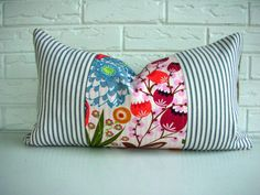 Decorative Throw Pillow Cover Lumbar  Bohemian by habitationBoheme, $48.00