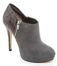 Women's Shoes Michael Kors YORK Bootie Boots Platform Heels Dark Slate Gray