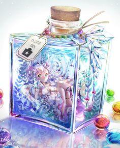 Anime | ブクマ、コメント、評価等ありがとうございます(*・д・*) こちらの記事に掲載して頂きました! ■pixivision タイトル:からっぽの瓶に何を詰める?「ボトル詰め」イラスト特集