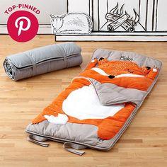 Personalized How Do You Zoo Sleeping Bag Fox