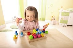 We love the high-quality wooden toys from @habausa - they make great baby and toddler gifts! #PNpartner
