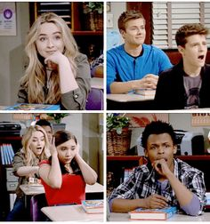 "#GirlMeetsWorld ""Girl Meets She Don't Like Me"" (the class learning about health/their body, why is everyone freaked but Maya and Lucas lol)"