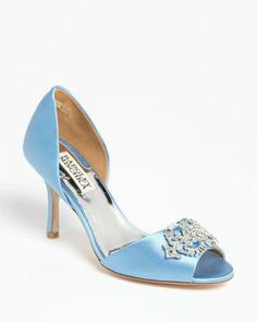 REVEL: Baby Blue Wedding Shoes $149 Available in three other colors!