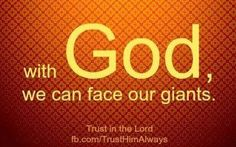 With GOD......