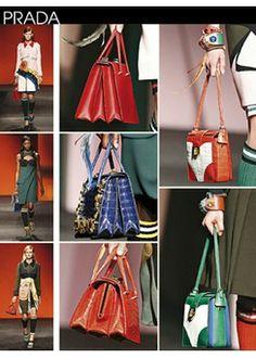 Show Details Box Accessories No. 10 - S/S 2014 Summer 2014, Spring Summer, Board Ideas, Pantone, Prada, Textiles, Trends, Handbags, Detail