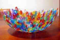 Melted Bead Bowl - http://www.pbs.org/parents/crafts-for-kids/melted-bead-bowl/