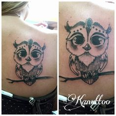 #kanuttoo #tattoo #ink #inked #owl #buho #shadow #sombra #line #lineas #animal #blackandwhite…