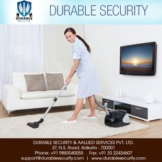 We ensure that #proper #cleaning is done in the #premises. Visit Us at: www.durablesecurity.com Or Call Us at: +91 9883040055