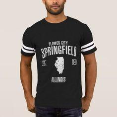 Springfield T-Shirt - vintage gifts retro ideas cyo