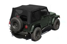 The PreOwned Jeep Store - Black Diamond XHD Replacement Soft Top W/Skins/Tinted 88-95 (YJ), $457.78 (http://www.buyjeeppartsonline.com/jeep-black-diamond-xhd-replacement-soft-top-w-skins-tinted-88-95-yj/)