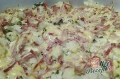 Baked cauliflower with ham and cheese Top-Rezepte.de - Baked cauliflower with ham and cheese - Baked Cauliflower, Cauliflower Recipes, Healthy Chicken Recipes, Healthy Dinner Recipes, Low Carb Recipes, Ham And Cheese Casserole, Dieta Atkins, Law Carb, Low Carb Keto