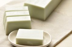 soap soap soap!  mint color, green tea soap #soap soap soap! #latikasoap #makesoap www.latikasoap.com