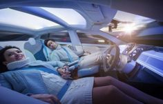 Rinspeed concept turns Tesla Model S into self-driving living room