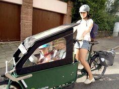 Mit dem Fahrrad und Kindern in der Großstadt unterwegs: Katharina erzählt, wie gut das funtioniert.