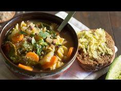 Sopa minestrone | Minestrone soup - YouTube