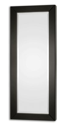 Black Glass Mirror  Click here to purchase: http://www.houzz.com/photos/17631639/Black-Glass-Mirror-traditional-mirrors