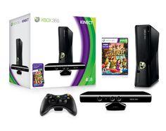 Xbox 360 4GB con Kinect e videogioco Kinect Adventures