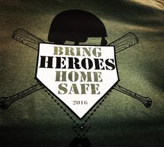 Happy to be a part of awesome projects here in the community! Project Bring Heroes Home Safe #skazma #skazmacustomapparel #screenprinting #bringheroeshomesafe #vet #hometownheroes #respect #longmont #colorado #like #comment #follow #longmontbaseballleague #silvercreekleadership