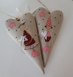 Christmas Sewing, Christmas Time, Christmas Crafts, Christmas Decorations, Xmas, Christmas Ornaments, Diy And Crafts, Paper Crafts, Idee Diy