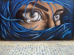 Mesmerizing Street Art of Glistening Eyes by Eoin  - My Modern Metropolis
