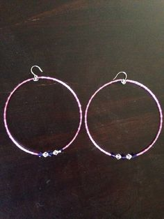 A personal favorite from my Etsy shop https://www.etsy.com/listing/233659145/super-large-boho-hoop-earrings