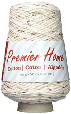 Premier Yarns 103207 Home Cotton Yarn  Multi ConeVineyard Dots -- To view further for this item, visit the image link.