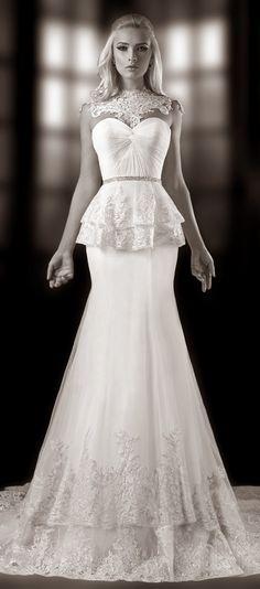 Trending One Love by Bien Savvy Bridal Collection Part Bridal Collection Dress CollectionPeplum