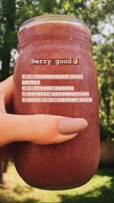 Whether creamy break fast Drink or fruity refreshment between - Smoothies only always go. Easy Smoothie Recipes, Easy Smoothies, Easy Recipes, Banana Smoothies, Strawberry Smoothie, Smoothie Ingredients, Healthy Recipes, Juice Smoothie, Smoothie Drinks
