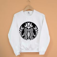 Goth Coffee Sweatshirt                                                                                                                                                                                 More