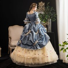 Royal Dresses, Ball Gown Dresses, Pageant Dresses, Quince Dresses, Quinceanera Dresses, Victorian Era Dresses, Victorian Gown, Renaissance Dresses, Rococo