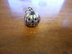 James Avery Retired 3D Pumpkin Sterling Silver #JamesAvery #Traditional