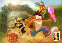 Crash Bandicoot - E3BR Collab by Gamerlherme on DeviantArt