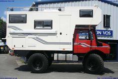 Unimog U1300L camper expedition vehicle