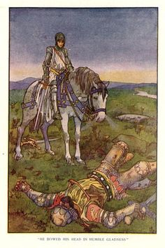 Oliver, also one of Charlemagne's knights and a Peer, is portrayed as Roland's best friend. He is brave, loyal and ever the voice of reason. One wonders how he dealt with Roland's stubborn refusal to heed his advice and sound the horn when it became obvious that they were horribly outnumbered.