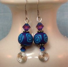 Handmade Swirls & Twirls Earrings