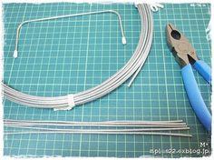 ワイヤーポーチのワイヤーの作り方 : M+