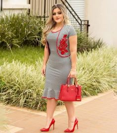 Plus size outfits African Dresses Plus Size, African Dresses For Women, Stylish Dresses, Cute Dresses, Casual Dresses, Kohls Dresses, Dresses Dresses, Summer Dresses, Office Dresses For Women
