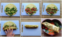 Sunn og digg lunsj med omelettwraps! - lindastuhaug