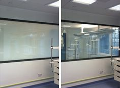 The benefits of privacy glass are plentiful, as more and more hospitals embrace the technology.     The glass, which can instantly turn from transparent to opaque simply by flicking a switch, not only enables instant privacy, but is also incredibly easy to clean.  Anti-microbial chemical bonds to glass to help tackle the spread of Hospital Acquired Infections (HAIs). http://www.esgpolyvision.co.uk/hospitals_privacyglass.html