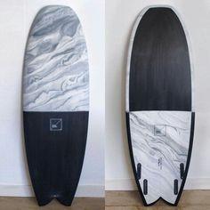 "5'6"" Snub Fish by @td_surfboards glassed by @goldenstateglassing available via @lonewolfsobjetsdsurf #tdsurfboards #goldenstateglassing #lonewolfobjetsdsurf #resinart #surfboard"