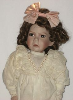 Little Girl With A Curl Doll Ashton Drake Dianna by JewelsThings, $18.95