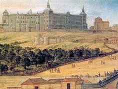 El desaparecido Real Alcázar de Madrid fue un palacio real de la monarquía Hispánica hasta 1734, año en que fue destruido por un incendio de incierto origen. Estuvo situado en el solar donde actualmente se erige el Palacio Real de Madrid.
