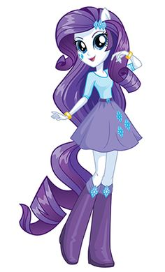 It's Rarity, darling. My Little Pony Equestria Girls.