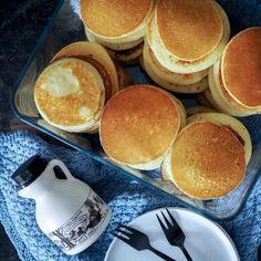 Glutenfrie amerikanske pandekager Home By, Pancakes, Gluten Free, Dessert, Snacks, Breakfast, Recipes, Gem, Ideas
