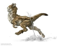 fugamus: Something else I think I will need to stat. I love the idea of a rideable biped that is like a herbivorous cross between a rodent and a saber toothed tiger with bad eyes and great hearing.