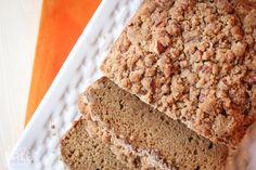 Cinnamon Streusel Pumpkin Bread - sprucing up an easy bread mix!