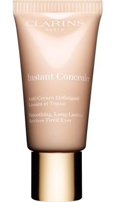 Clarins Instant Concealer 15ml - 01 - beautiful and looks oh-so-natural. Doesn't need to be set with powder. Wears all day without sliding around, stays put, doesn't fall apart by the end if the day like many concealers do. Doesn't dry out the under eye area. Contains skin nourishing ingredients too. Works over blemishes as well. Great value for the price, this tube is huge for a concealer!