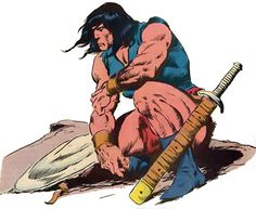 Conan the Barbarian by John Buscema