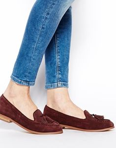 Image 4 ofASOS MAXED OUT Suede Loafers