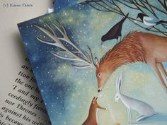 Out Of the Depths We Called You.  Six Postcards with by karendavis, £6.50
